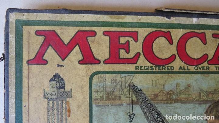Juegos construcción - Meccano: ANTIGUO MECCANO 1 - FABRICADO INGLATERRA - AÑOS 20 - Foto 25 - 133802838