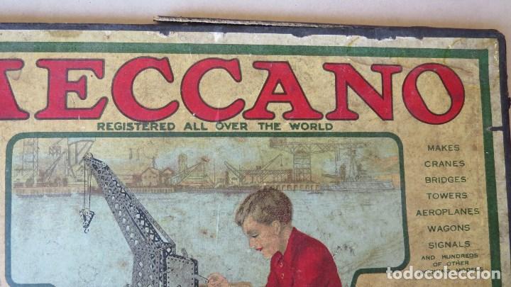 Juegos construcción - Meccano: ANTIGUO MECCANO 1 - FABRICADO INGLATERRA - AÑOS 20 - Foto 26 - 133802838