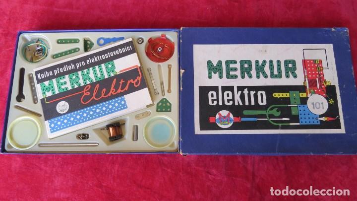 MERKUR ELEKTRO 101 - ANTIGUO MECCANO DEL ESTE - CON PRECIOSO CATALOGO (Spielzeug - Bauen und Konstruieren - Meccano)