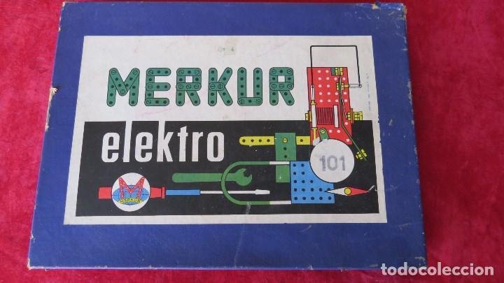 Spielzeug zum Bauen - Meccano: MERKUR ELEKTRO 101 - ANTIGUO MECCANO DEL ESTE - CON PRECIOSO CATALOGO - Foto 2 - 133815646