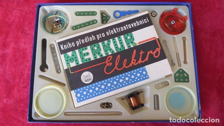 Spielzeug zum Bauen - Meccano: MERKUR ELEKTRO 101 - ANTIGUO MECCANO DEL ESTE - CON PRECIOSO CATALOGO - Foto 3 - 133815646