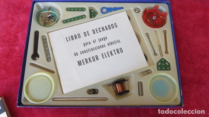 Spielzeug zum Bauen - Meccano: MERKUR ELEKTRO 101 - ANTIGUO MECCANO DEL ESTE - CON PRECIOSO CATALOGO - Foto 4 - 133815646