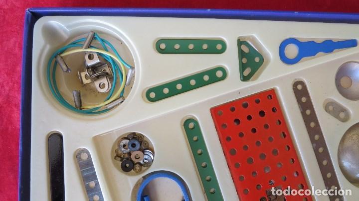Spielzeug zum Bauen - Meccano: MERKUR ELEKTRO 101 - ANTIGUO MECCANO DEL ESTE - CON PRECIOSO CATALOGO - Foto 5 - 133815646