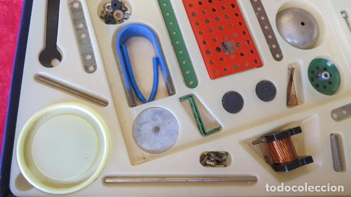 Spielzeug zum Bauen - Meccano: MERKUR ELEKTRO 101 - ANTIGUO MECCANO DEL ESTE - CON PRECIOSO CATALOGO - Foto 7 - 133815646