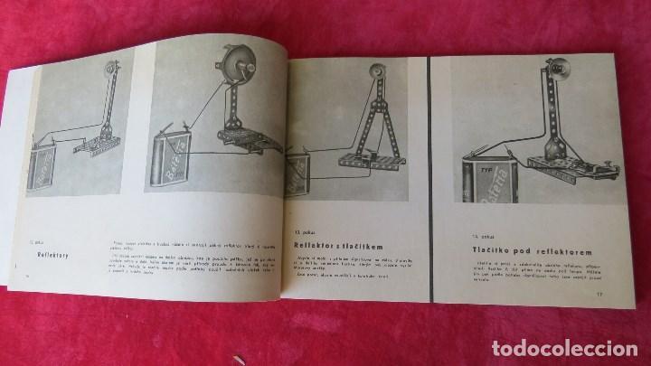 Spielzeug zum Bauen - Meccano: MERKUR ELEKTRO 101 - ANTIGUO MECCANO DEL ESTE - CON PRECIOSO CATALOGO - Foto 14 - 133815646