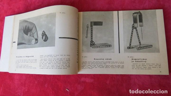 Spielzeug zum Bauen - Meccano: MERKUR ELEKTRO 101 - ANTIGUO MECCANO DEL ESTE - CON PRECIOSO CATALOGO - Foto 15 - 133815646
