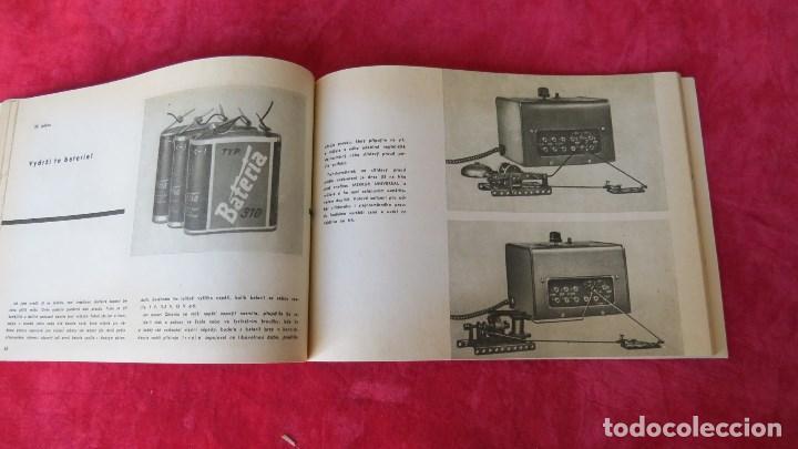 Spielzeug zum Bauen - Meccano: MERKUR ELEKTRO 101 - ANTIGUO MECCANO DEL ESTE - CON PRECIOSO CATALOGO - Foto 17 - 133815646