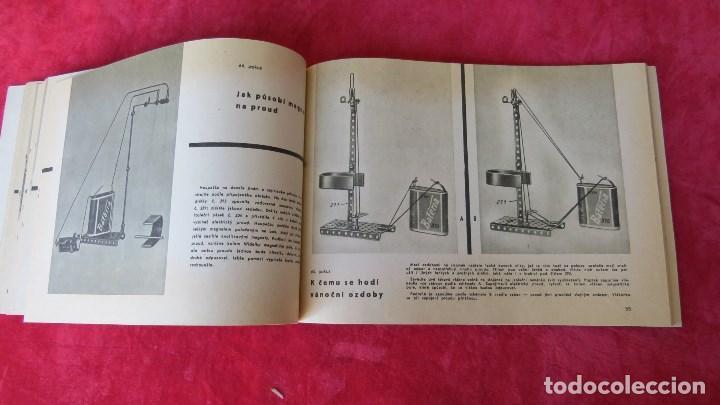 Spielzeug zum Bauen - Meccano: MERKUR ELEKTRO 101 - ANTIGUO MECCANO DEL ESTE - CON PRECIOSO CATALOGO - Foto 18 - 133815646