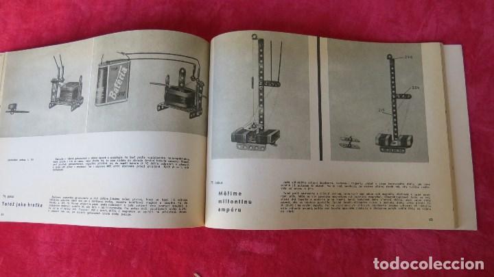 Spielzeug zum Bauen - Meccano: MERKUR ELEKTRO 101 - ANTIGUO MECCANO DEL ESTE - CON PRECIOSO CATALOGO - Foto 19 - 133815646