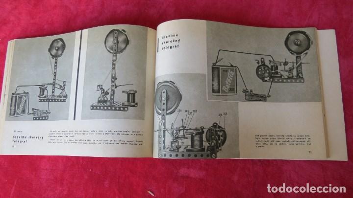 Spielzeug zum Bauen - Meccano: MERKUR ELEKTRO 101 - ANTIGUO MECCANO DEL ESTE - CON PRECIOSO CATALOGO - Foto 20 - 133815646