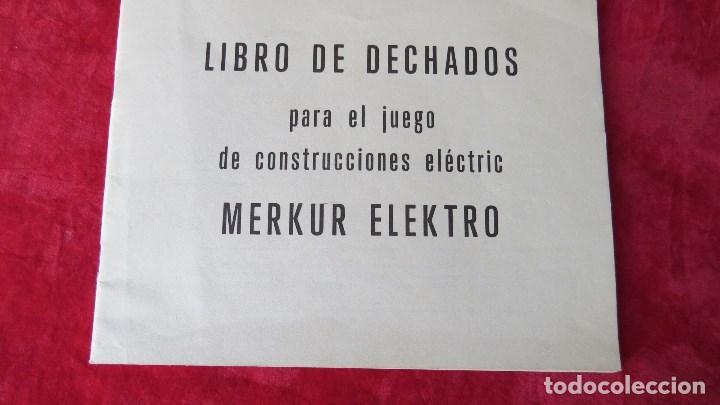 Spielzeug zum Bauen - Meccano: MERKUR ELEKTRO 101 - ANTIGUO MECCANO DEL ESTE - CON PRECIOSO CATALOGO - Foto 22 - 133815646