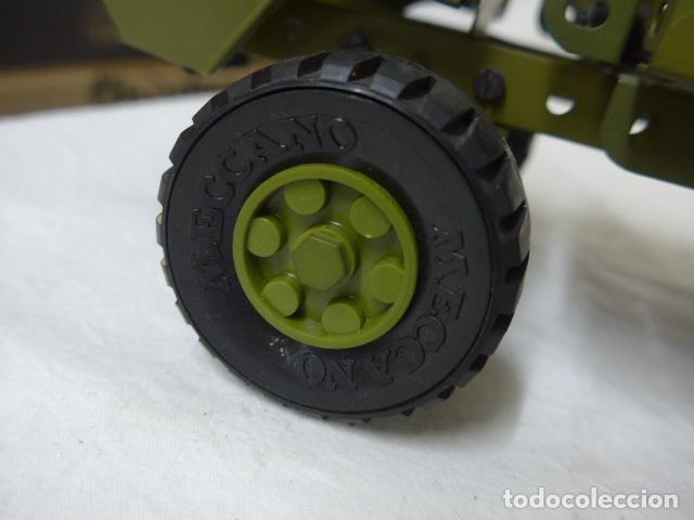 Juegos construcción - Meccano: Lote de meccano antiguo, años 50. camion militar + cara. Original - Foto 20 - 134006110