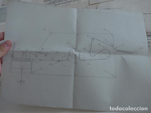 Juegos construcción - Meccano: Lote meccano premio de Liverpool 1953, maquina rallar papel + 7 diplomas + documentos... - Foto 46 - 132421206