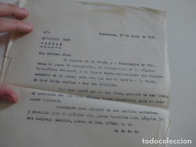 Juegos construcción - Meccano: Lote meccano premio de Liverpool 1953, maquina rallar papel + 7 diplomas + documentos... - Foto 49 - 132421206