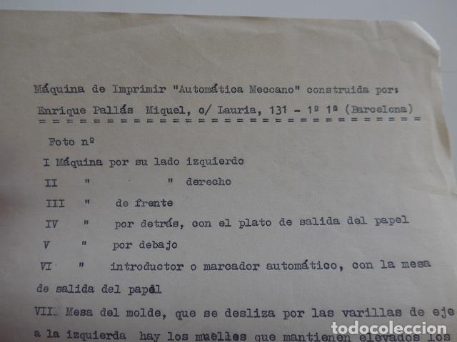 Juegos construcción - Meccano: Lote meccano premio de Liverpool 1953, maquina rallar papel + 7 diplomas + documentos... - Foto 56 - 132421206