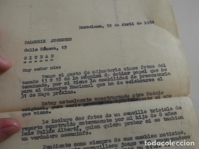 Juegos construcción - Meccano: Lote meccano premio de Liverpool 1953, maquina rallar papel + 7 diplomas + documentos... - Foto 58 - 132421206
