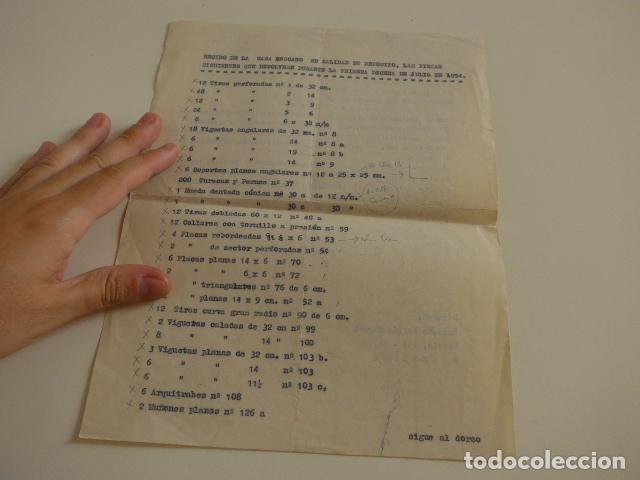 Juegos construcción - Meccano: Lote meccano premio de Liverpool 1953, maquina rallar papel + 7 diplomas + documentos... - Foto 59 - 132421206