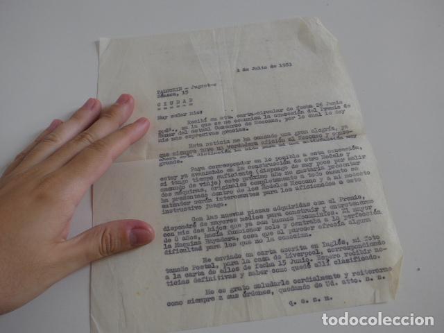 Juegos construcción - Meccano: Lote meccano premio de Liverpool 1953, maquina rallar papel + 7 diplomas + documentos... - Foto 61 - 132421206