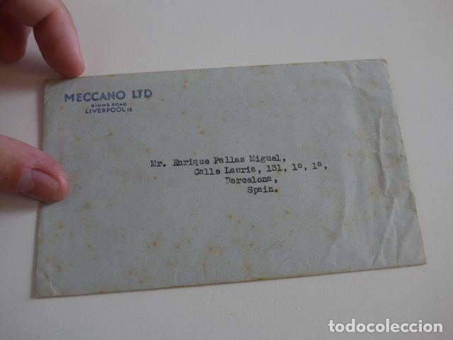 Juegos construcción - Meccano: Lote meccano premio de Liverpool 1953, maquina rallar papel + 7 diplomas + documentos... - Foto 64 - 132421206
