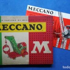 Juegos construcción - Meccano: ENVÍO GRATIS. MECCANO 1. MECANO ORIGINAL.. Lote 134340186