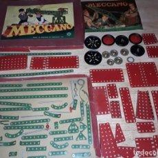 Juegos construcción - Meccano: MECCANO N 4 , ANTIGUO MADE IN ENGLAND, EN CAJA CON INSTRUCCIONES.. Lote 135367554