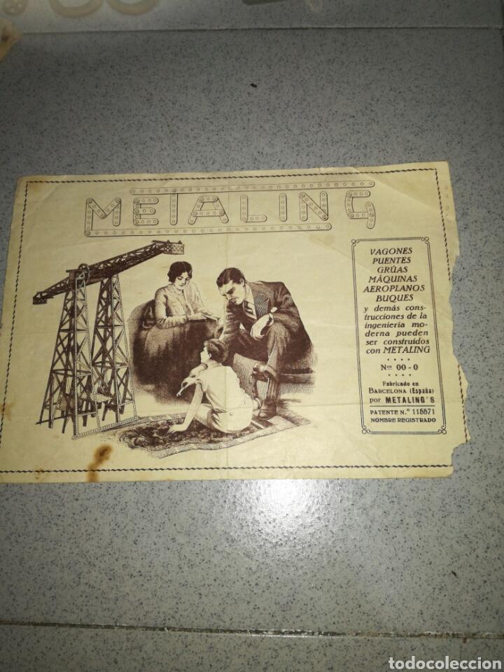 Juegos construcción - Meccano: Antiguo Metaling casi completo - Foto 3 - 135616970