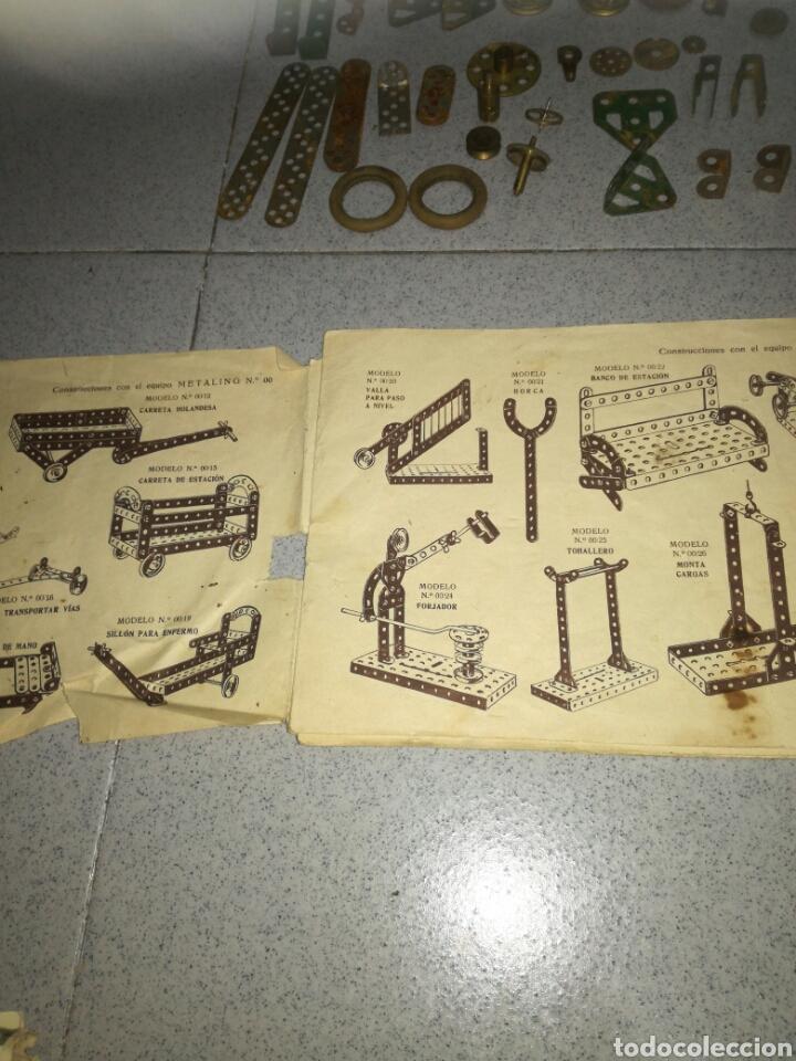 Juegos construcción - Meccano: Antiguo Metaling casi completo - Foto 5 - 135616970