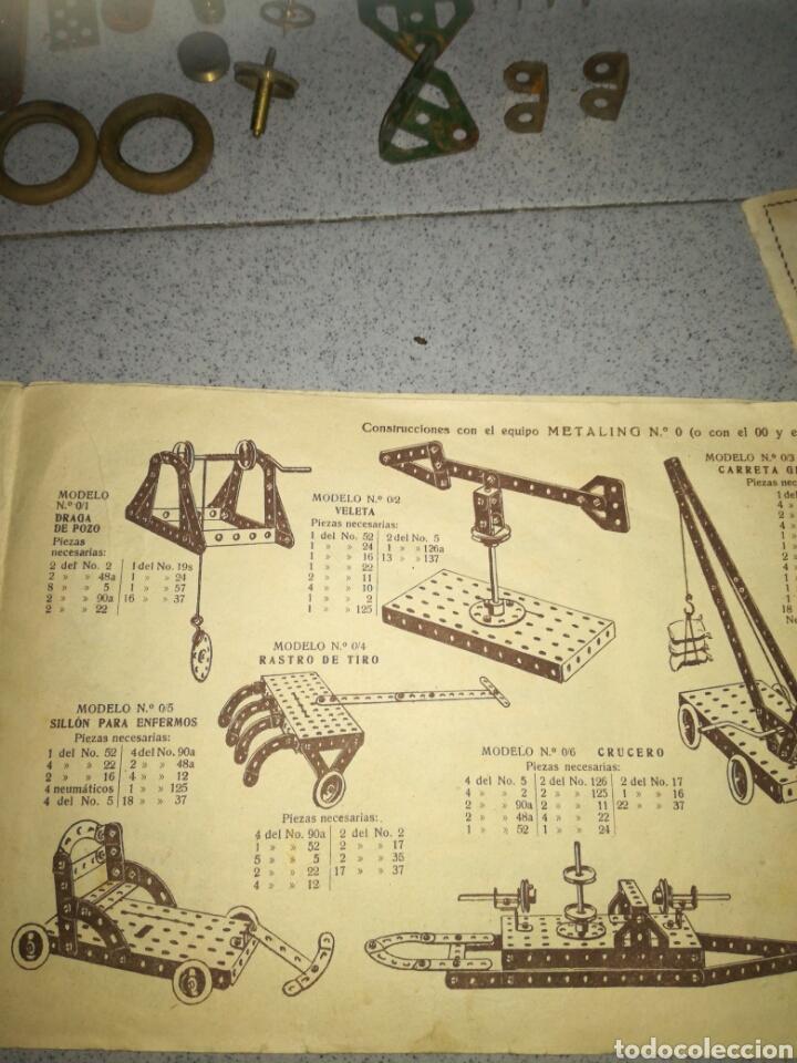 Juegos construcción - Meccano: Antiguo Metaling casi completo - Foto 6 - 135616970