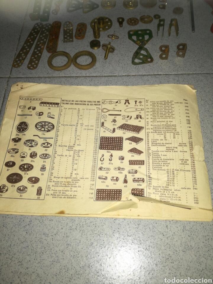 Juegos construcción - Meccano: Antiguo Metaling casi completo - Foto 7 - 135616970