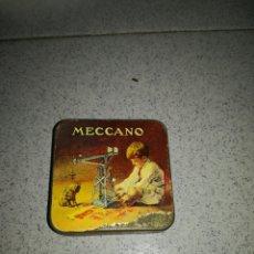 Juegos construcción - Meccano: ANTIGUA CAJA MECCANO. Lote 135617486