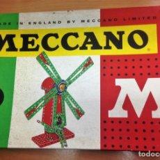 Juegos construcción - Meccano: JUEGO MECCANO Nº3 CON INSTRUCCIONES FABRICADO POR POCH. Lote 135768858