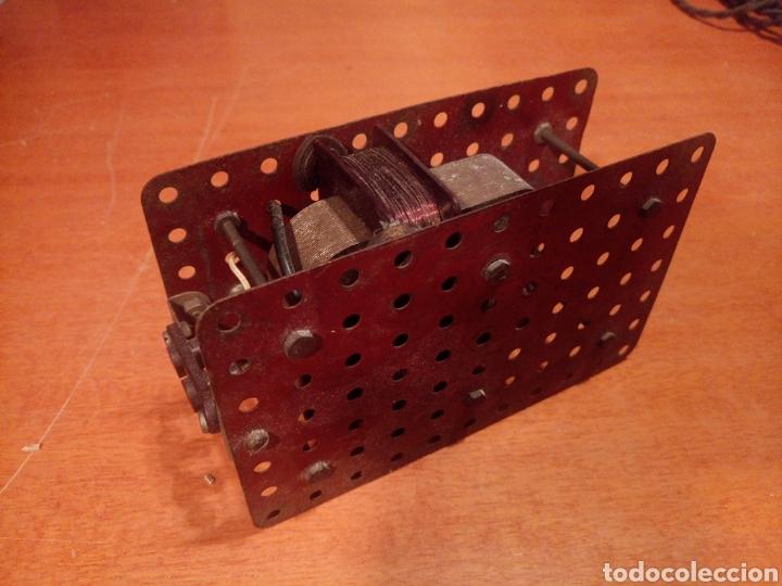 Juegos construcción - Meccano: Antiguo y potente motor para meccano. No es original. Sin probar. - Foto 3 - 136346905