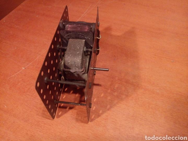 Juegos construcción - Meccano: Antiguo y potente motor para meccano. No es original. Sin probar. - Foto 4 - 136346905