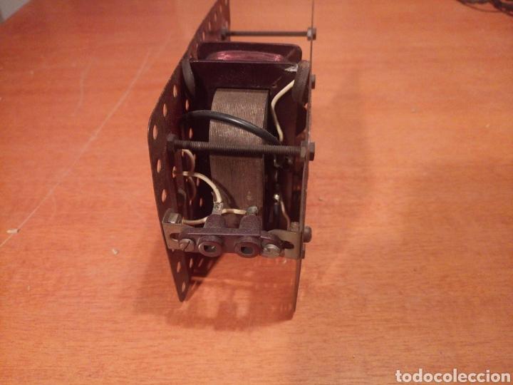 Juegos construcción - Meccano: Antiguo y potente motor para meccano. No es original. Sin probar. - Foto 5 - 136346905