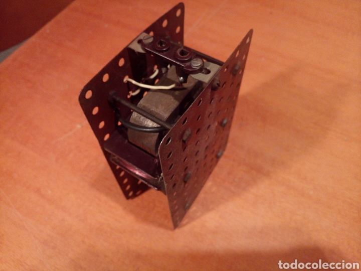 Juegos construcción - Meccano: Antiguo y potente motor para meccano. No es original. Sin probar. - Foto 7 - 136346905
