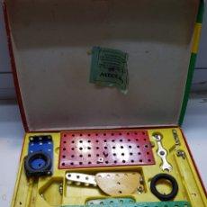 Juegos construcción - Meccano: ANTIGUO MECANO 0 AÑO 1966 EN CAJA ORIGINAL. Lote 136613096