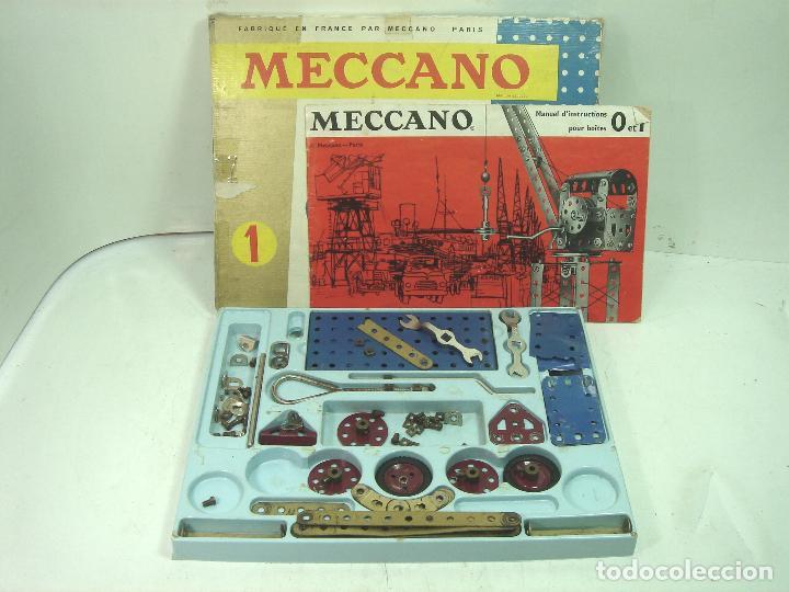 ANTIGUO JUEGO - MECCANO 1 M O- INCLUYE CATALOGO - MADE IN FRANCE AÑOS 60 -MECANO (Juguetes - Construcción - Meccano)