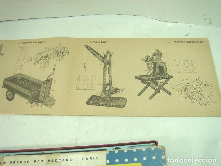 Juegos construcción - Meccano: ANTIGUO JUEGO - MECCANO 1 M O- INCLUYE CATALOGO - MADE IN FRANCE AÑOS 60 -MECANO - Foto 7 - 136668170