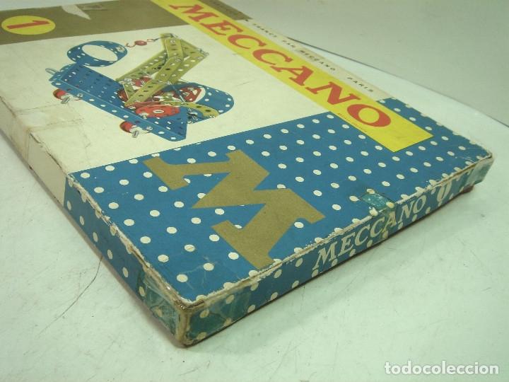 Juegos construcción - Meccano: ANTIGUO JUEGO - MECCANO 1 M O- INCLUYE CATALOGO - MADE IN FRANCE AÑOS 60 -MECANO - Foto 8 - 136668170