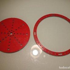 Juegos construcción - Meccano: 2 PIEZAS MECCANO MADE ENGLAND. Lote 137175530