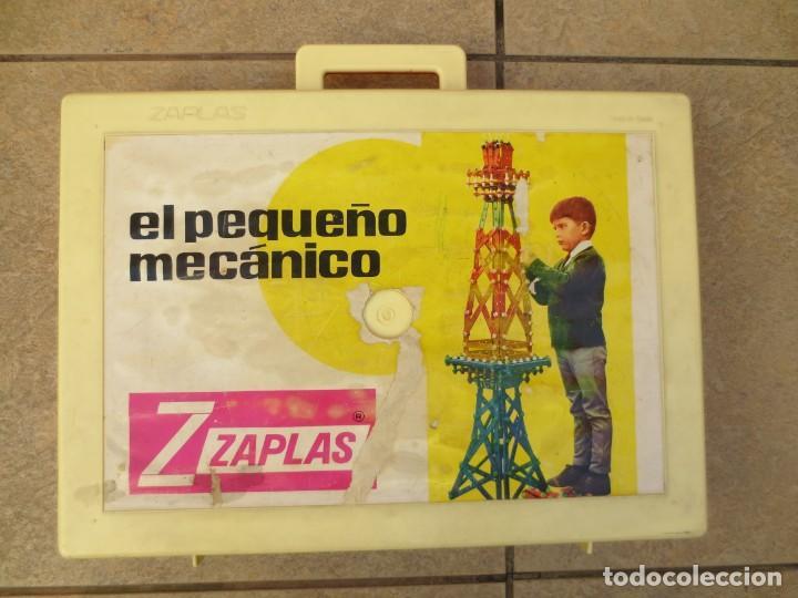 MALETIN - EL PEQUEÑO MECANICO DE ZASPLAS - AÑOS 60 (Juguetes - Construcción - Meccano)