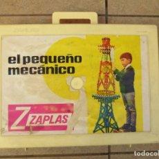 Juegos construcción - Meccano: MALETIN - EL PEQUEÑO MECANICO DE ZASPLAS - AÑOS 60. Lote 137651278