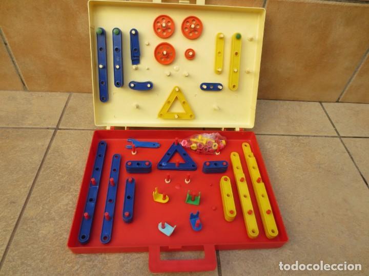 Juegos construcción - Meccano: MALETIN - EL PEQUEÑO MECANICO DE ZASPLAS - AÑOS 60 - Foto 2 - 137651278