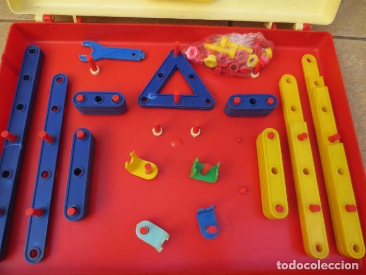 Juegos construcción - Meccano: MALETIN - EL PEQUEÑO MECANICO DE ZASPLAS - AÑOS 60 - Foto 4 - 137651278