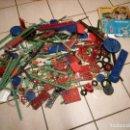 Juegos construcción - Meccano: GRAN LOTE DE MARKLYN METALLBAUKASTEN MECANO 1963. CON INSTRUCCIONES.. Lote 138685842