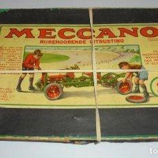 Juegos construcción - Meccano: JUEGO MECCANO. BIJBEHOORENDE UITRUSTING. 2A. MONTAJE DE COCHE. EL DE LA FOTO. VER. Lote 141194854