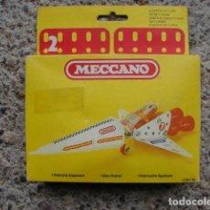 Juegos construcción - Meccano: AVIÓN PATRULLA ESPACIAL - MECCANO 2. Lote 143599278