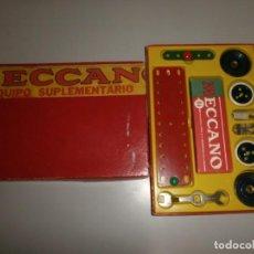 Juegos construcción - Meccano: MECCANO EQUIPO SUPLEMENTARIO 0A . Lote 145103570