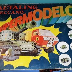 Juegos construcción - Meccano: METALING MECCANO SUPERMODELOS MILITAR AÑOS 70 VER FOTOS Y DESCRIPCION. Lote 146137166