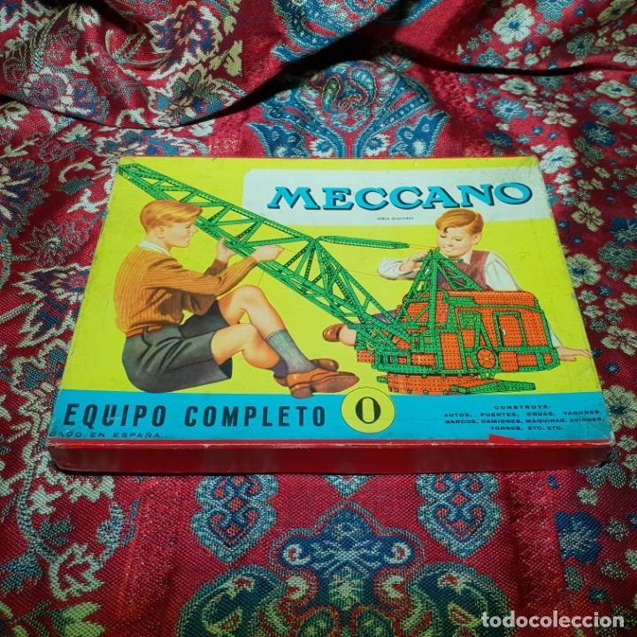 EQUIPO MECCANO Nº 0. (Juguetes - Construcción - Meccano)